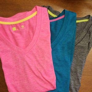 Xersion (3) Quick-dri Shirts
